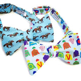 Horse Race Bow Ties Kentucky Derby