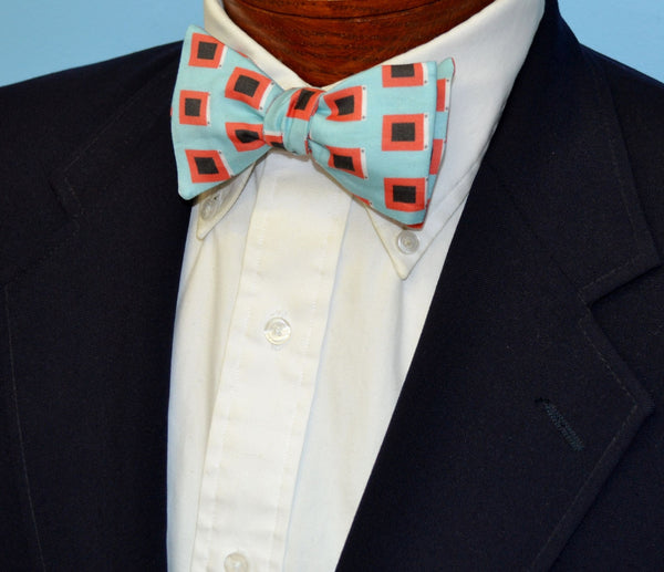 Hurricane Flags Bow Tie