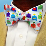Jockey Silks Kentucky Derby Bow Tie