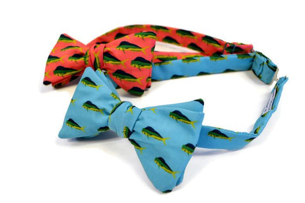Mahi Mahi Fish Bow Ties