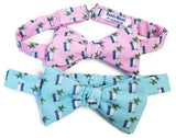 Pink Blue Mint Julep Bow Ties