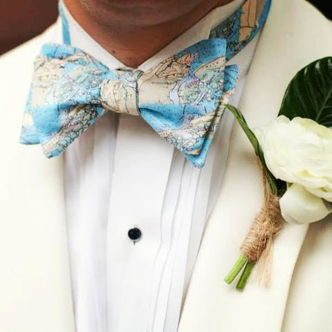 Mount Pleasant South Carolina And Isle Of Palms Map Bow Tie By Barry Beaux
