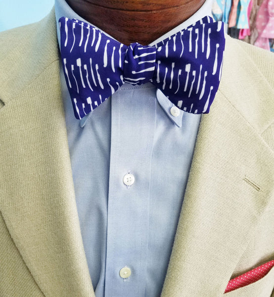 Dental Blue Bow Tie