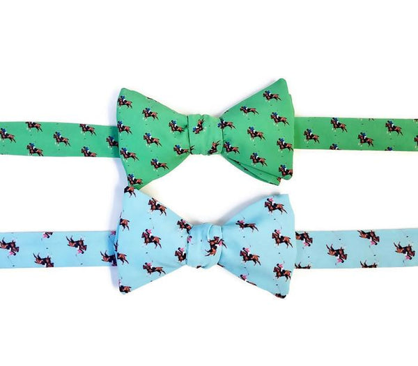 Polo Match Horse Bow Ties