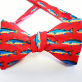 Red Spottail Bow Tie