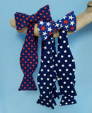Stars Red White Blue Bow Ties 4th July