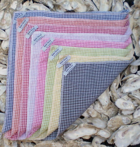 Seersucker Gingham Pocket Squares