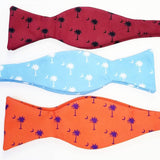 South Carolina USC Clemson Citadel Palmetto Crescent Bow Ties