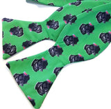 Green Turkey Bow Tie