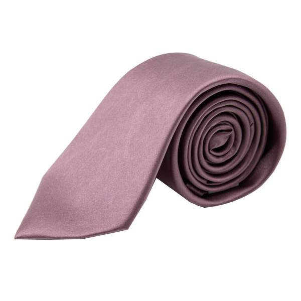 Lavender Colored 100% Handmade Silk Tie - Made in USA - Mr James Store