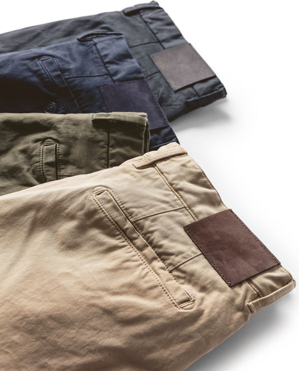 Enzyme Washed Chino - Mr James Store