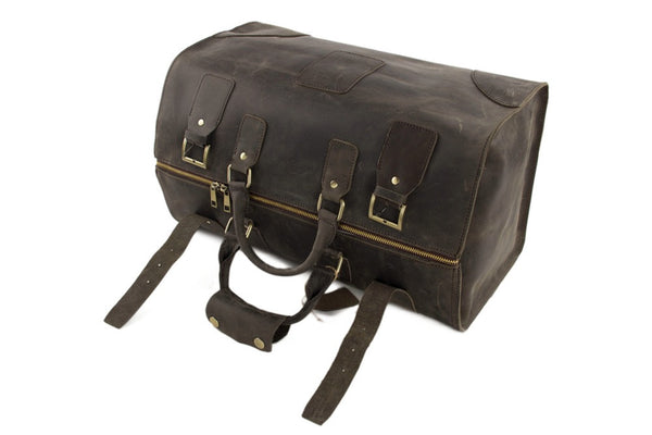 Vintage Leather 'Doctor's' Bag - Mr James Store