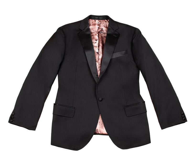 Ready to wear special edition black tuxedo - Mr James Store