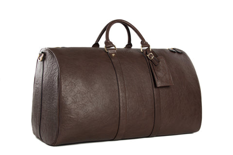 Premium Leather Weekender - Mr James Store  - 6