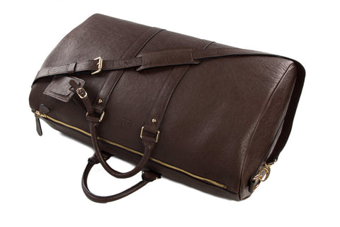 Premium Leather Weekender - Mr James Store  - 7