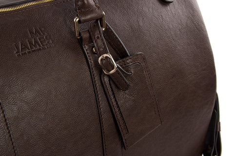 Premium Leather Weekender - Mr James Store  - 2