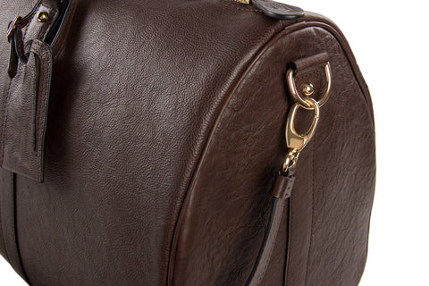 Premium Leather Weekender - Mr James Store  - 4