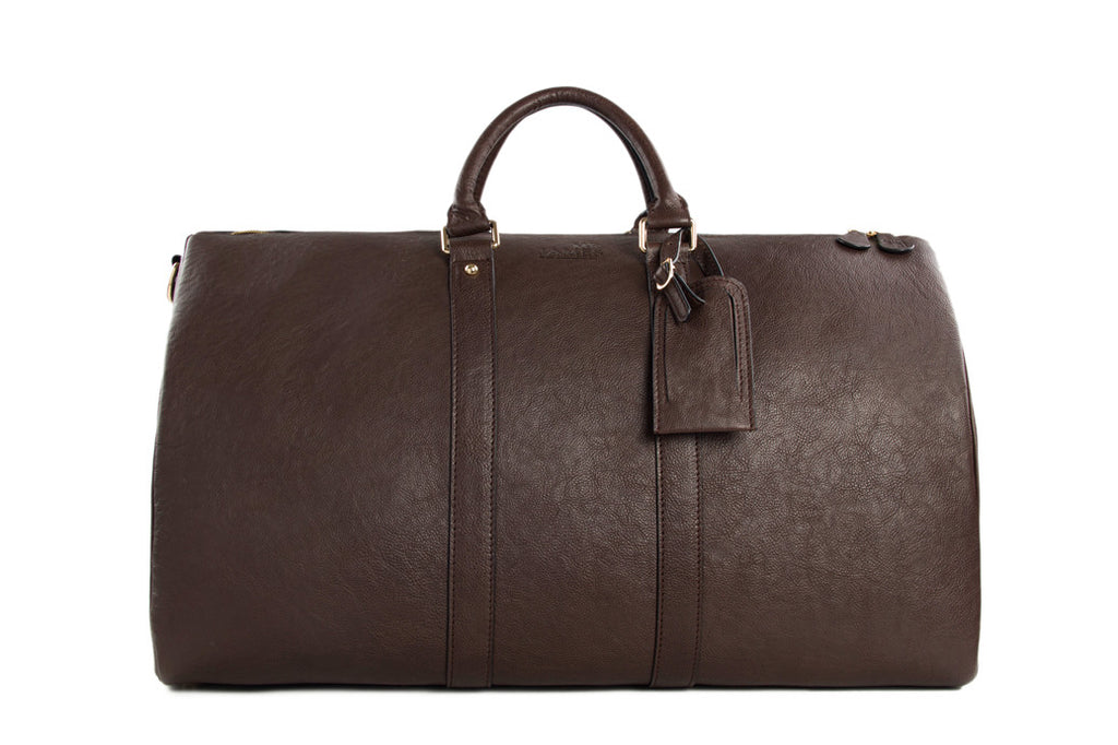Premium Leather Weekender - Mr James Store  - 1