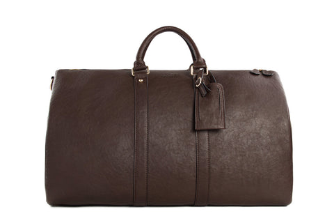 Premium Leather Weekender