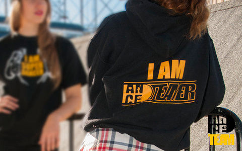 "Danceteam ""I am Danceteamer"" hoodies"