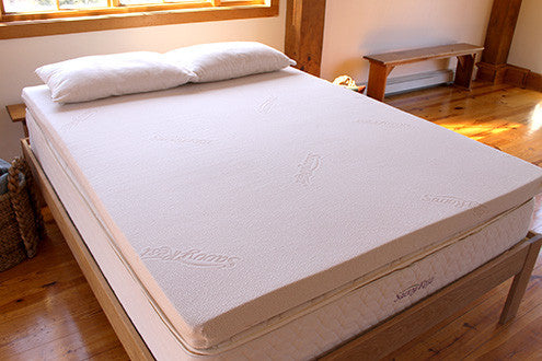 """Vitality"" Natural Latex Organic Mattress Topper"