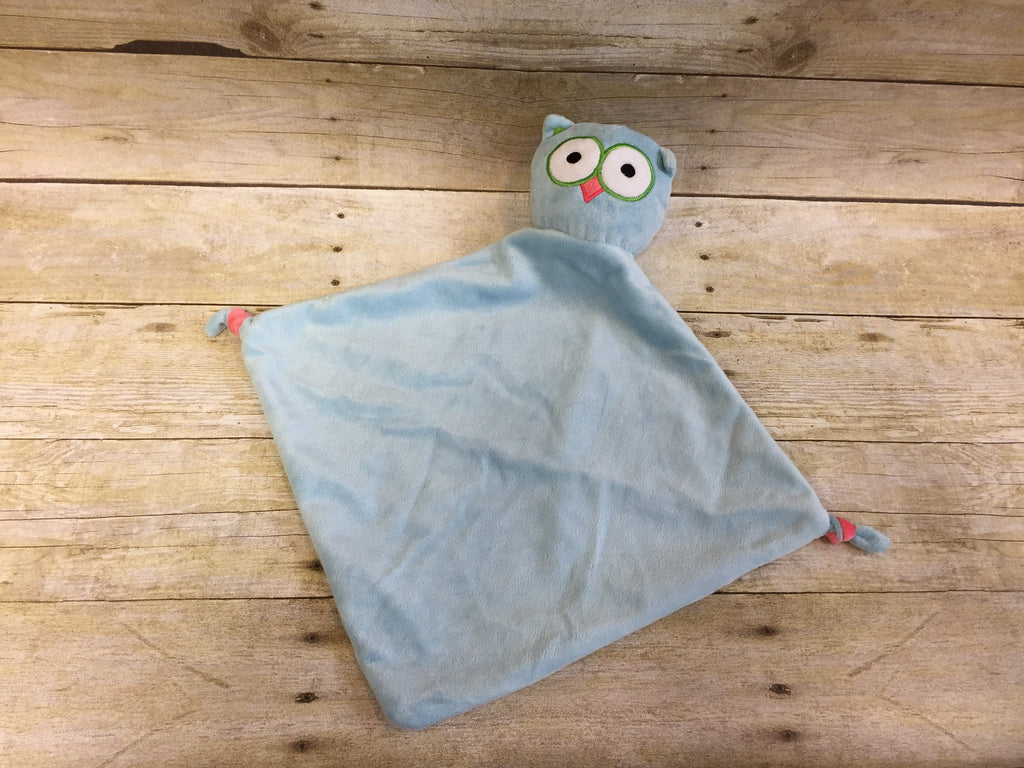 Baby Cubbies Snuggle Buddy Owl Blanket - custom embroidered!