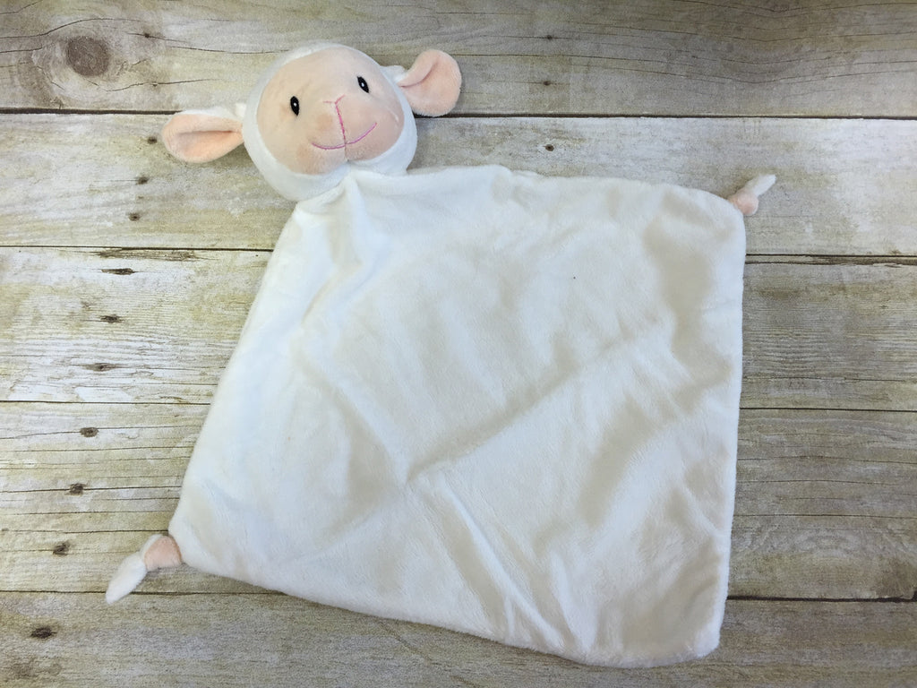 Baby Cubbies Snuggle Buddy Lamb Blanket - custom embroidered!