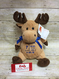 Embroider Buddy™ Moose Stuffie with Custom Embroidery