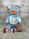 Cubbies™ Harlequin Bear Stuffie with Custom Embroidery