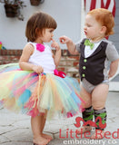 Ruffle Butts Rainbow Tutu