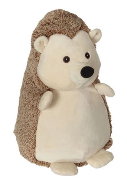 Embroider Buddy Hedgehog Stuffie with Custom Embroidery
