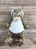 Embroider Buddy Tiger Stuffie with Custom Embroidery