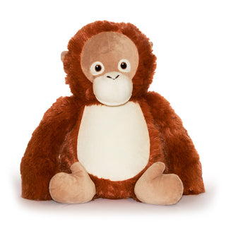 Cubbies™ Orangutan Stuffie with Custom Embroidery