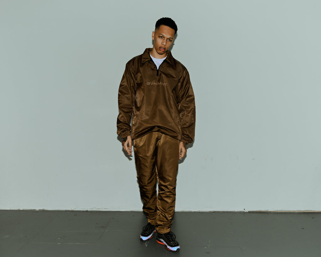 Copper GVNMNT Track Top