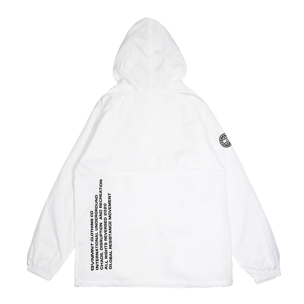 International Underground Windbreaker (Arctic White)