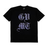 Chromed Crest T Shirt - Black