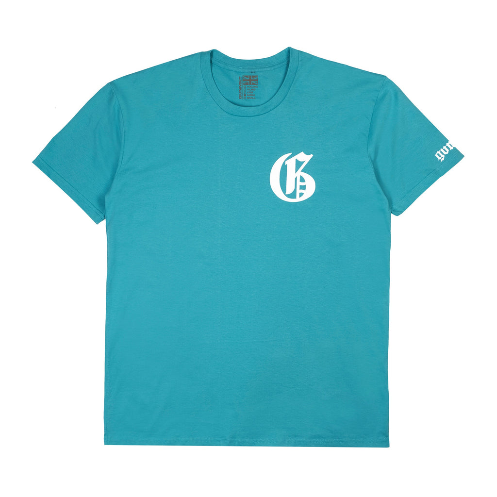 G Pack T Shirt - Lagoon Blue