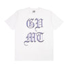 Chromed Crest T Shirt - White