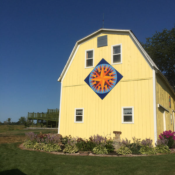 St. Lawrence County Barn Quilt Tour, Saturday September 14th, 9am to 4pm