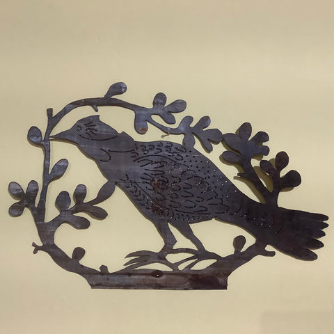 Grouse metal wall art, James Gonzalez, Potsdam, NY