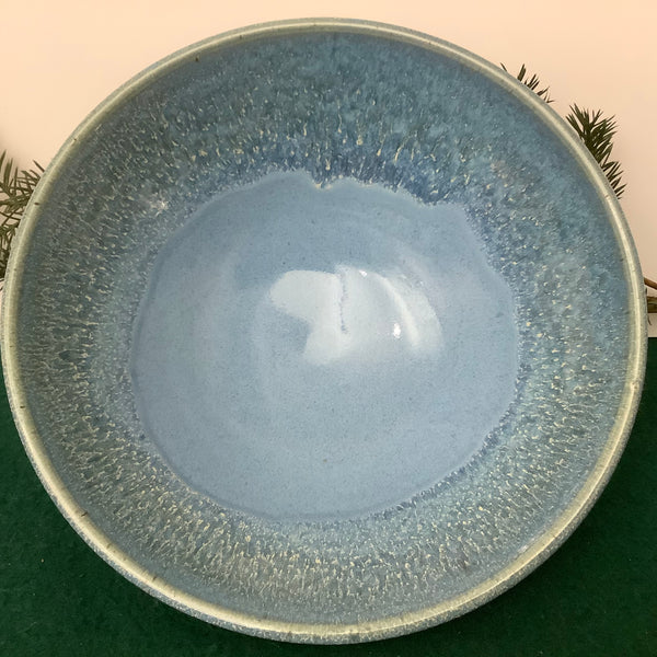 Bowl in Blues with Drip Rim, Linda Petroccione, DeKalb Junction, NY