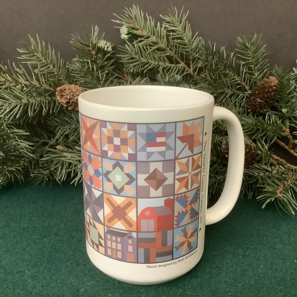 Towns of St. Lawrence County Barn Quilt Mug