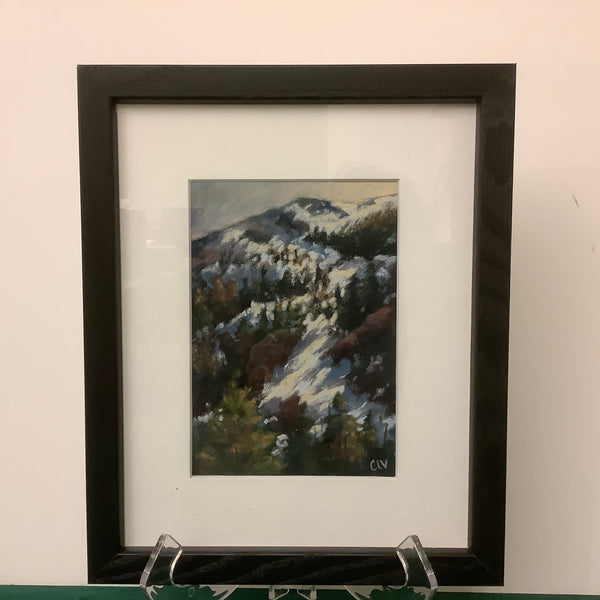 """Midway"",  Original Framed Pastel, Catherine LaPointe, Potsdam, NY"