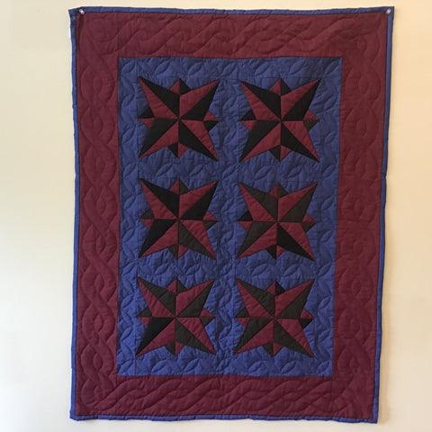 "Quilt, ""Beth's Career"" Pattern, Lizzie Shetler, DeKalb Junction, NY"