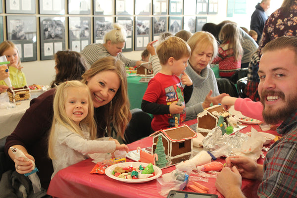 Gingerbread Workshop: Saturday, Nov. 16th