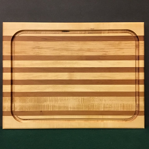 Cherry and Maple Cutting Board, Mike LaBell, Watertown, NY