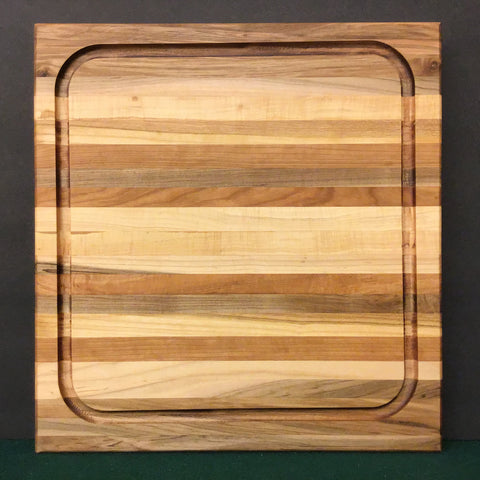 Walnut, Cherry and Maple Cutting Board, Mike LaBell, Watertown, NY