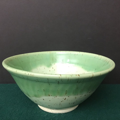Bowl in Pale Greens,  Linda Petroccione, DeKalb Junction, NY