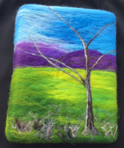 Wool Felt Art Class with Kathy Montan, POSTPONED UNTIL FURTHER NOTICE