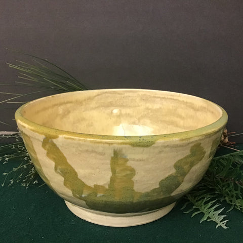 Natural Bowl with Green Design, Joanne Arvisais, Plattsburgh, NY